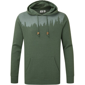 tentree Juniper Classic Pull à capuche Homme, forest green heather